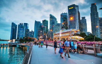 The mythical symbol of Singapore