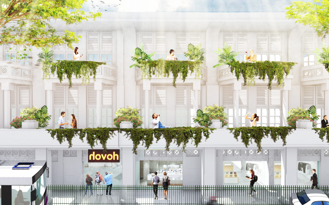 "CP Residences introduces new coliving brand ""Hovoh"" at Bugis Street"